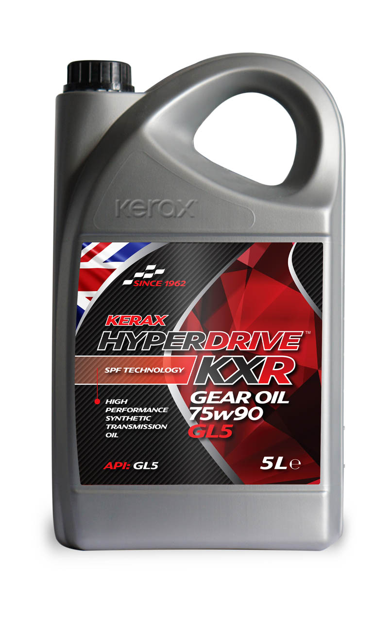 HyperDrive 75W90 GL5 Fully Synthetic Gear Oil