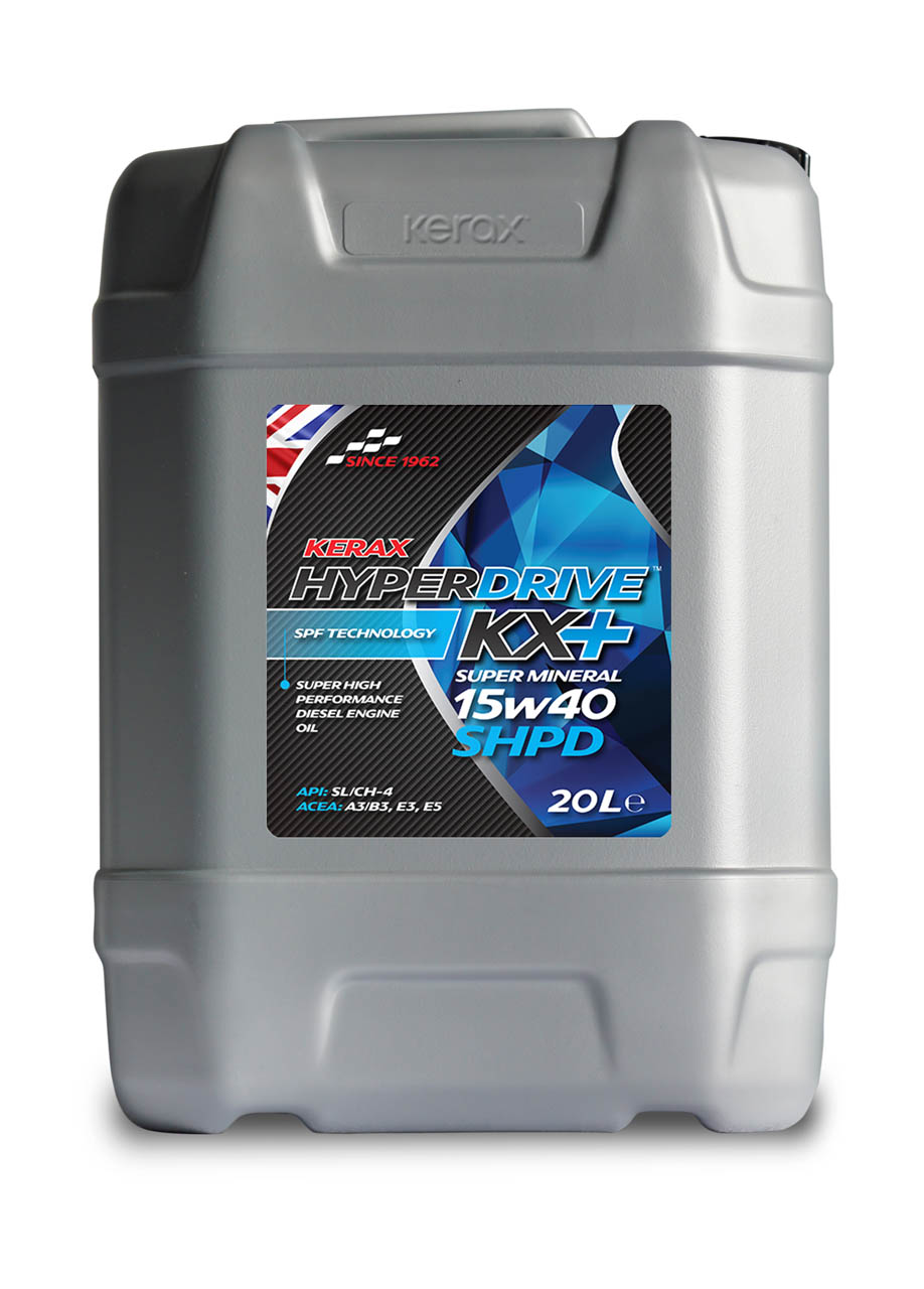 HyperDrive 15W40 SHPD E3, E5 Engine Oil