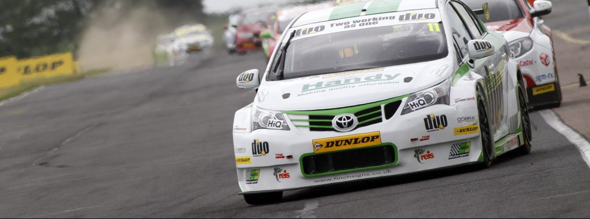 Handy Motorsport Achieve Hat-Trick of BTCC Points Finishes at Croft
