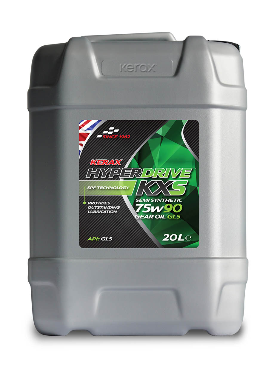 HyperDrive 75W90 Semi Synthetic Gear Oil GL5 20 Litre 20l