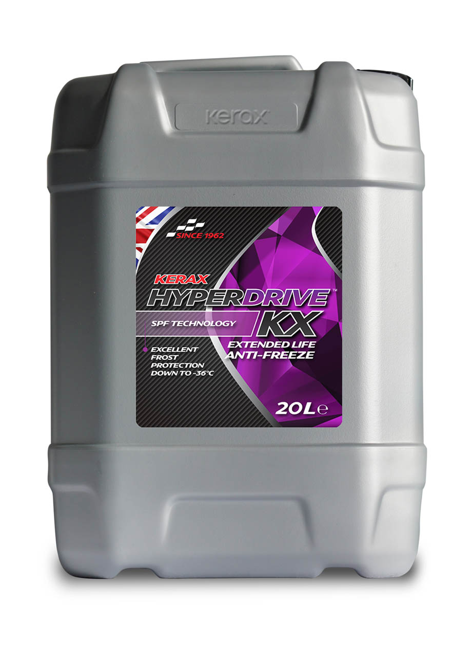 HyperDrive OAT Red LL Extended Life Antifreeze 20 Litre 20l