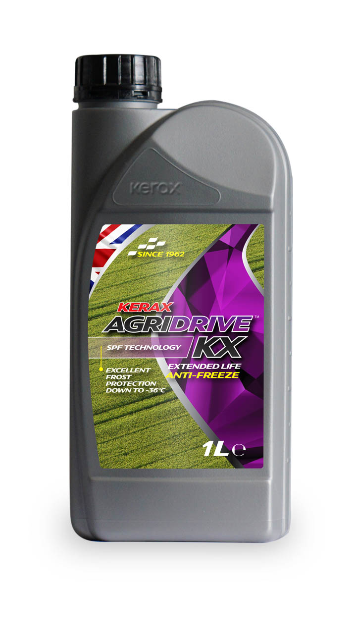 AgriDrive OAT Red LL Extended Life Antifreeze 1 Litre 1l