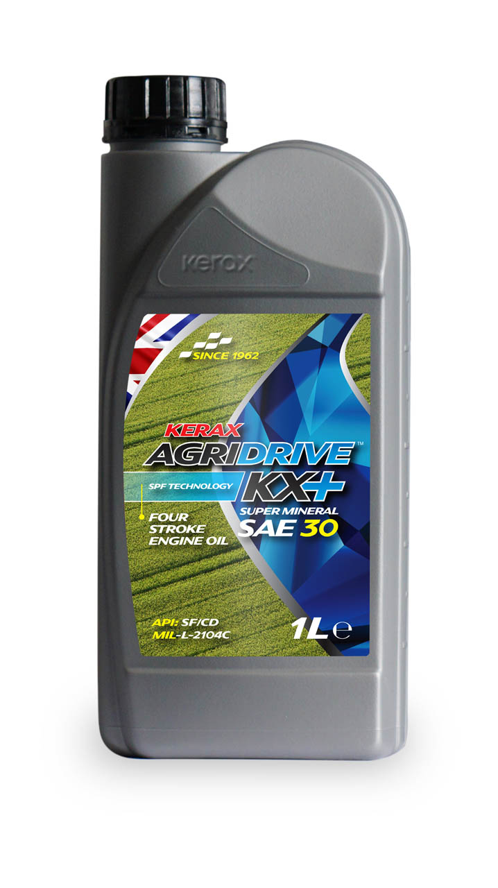 AgriDrive SAE30 Four Stroke Engine Oil 1 Litre 1l