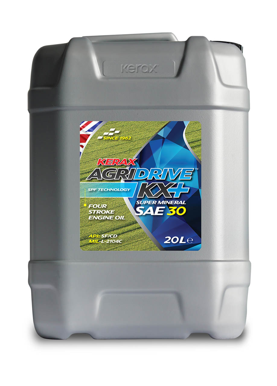 AgriDrive SAE30 Four Stroke Engine Oil 20 Litre 20l