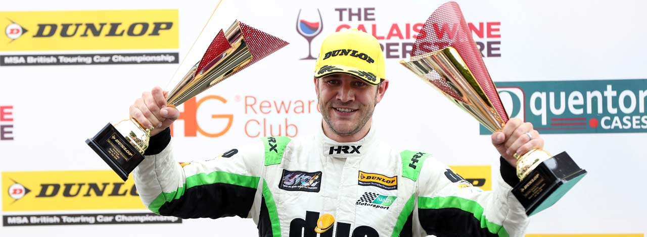 First Ever BTCC Podium For Handy Motorsport