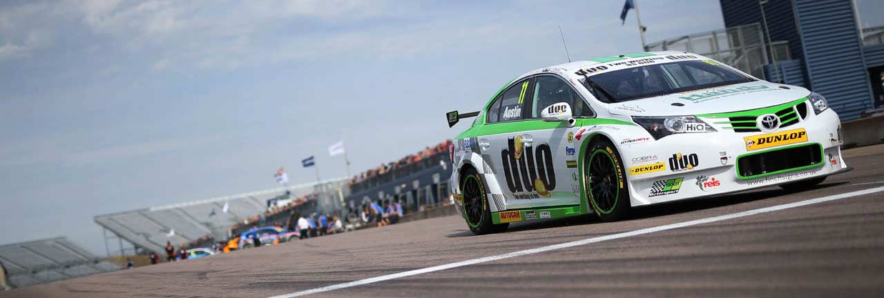 Rockingham BTCC 2016, no fairy tale podium finish for Rob Austin – Handy Motorsport