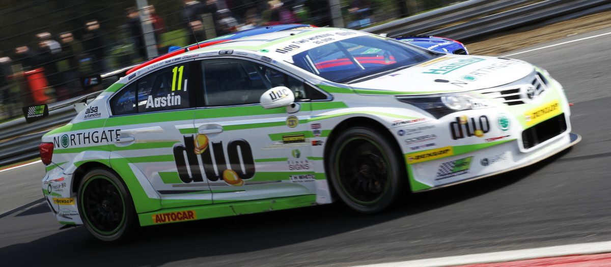 Eye-Catching Top Five Showing for Rob Austin at Brands Hatch BTCC