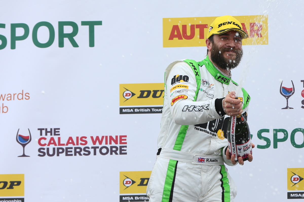 Podium for Austin and Handy Motorsport at Donington BTCC