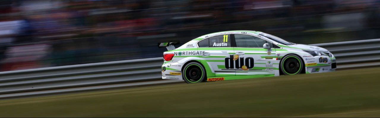 Thruxton Weekend Elevates Handy Motorsport's Austin Into Ninth In BTCC Title Race