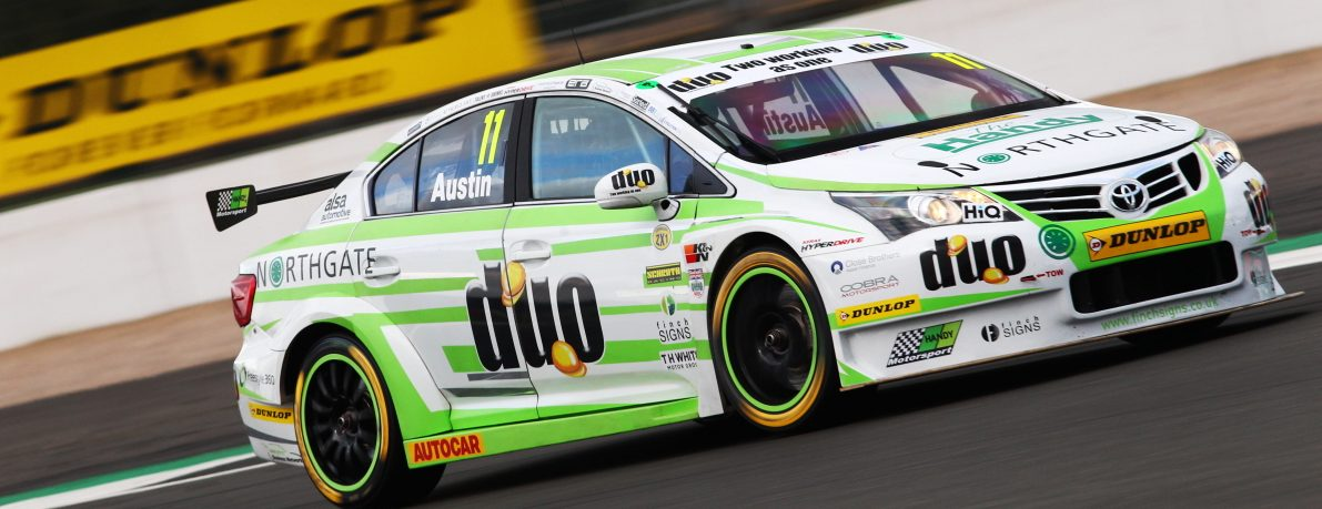 Austin and Handy Motorsport back on form at Silverstone with double top 5
