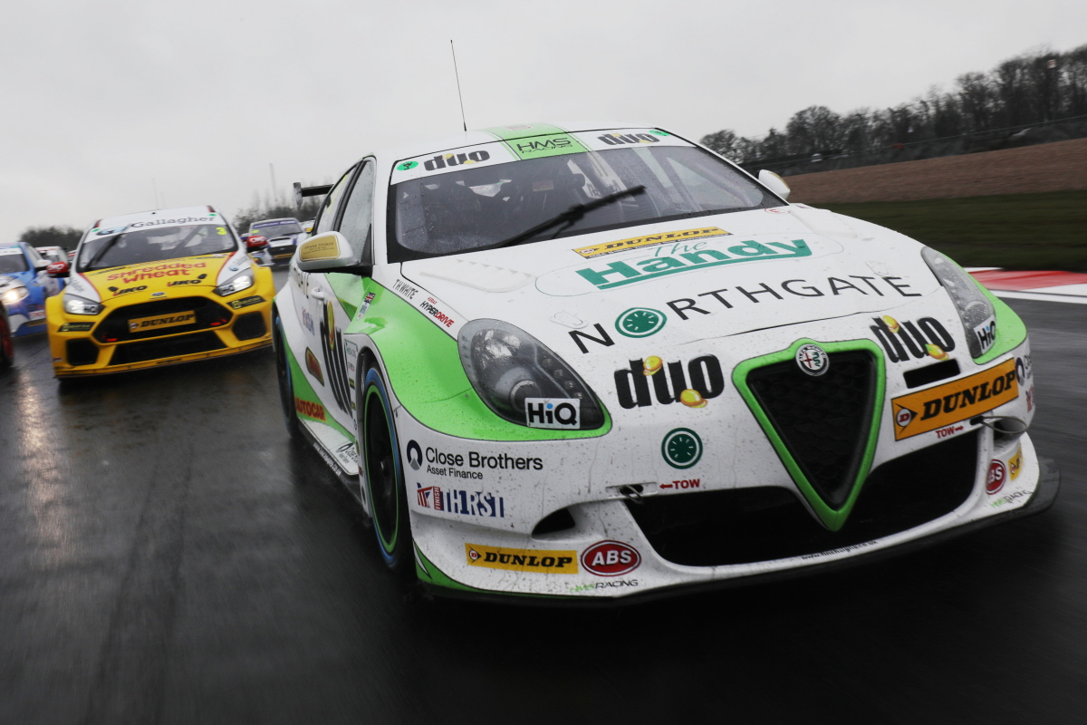 HMS RACING Lead Off With a Dream Start To Their BTCC 2018 Campaign