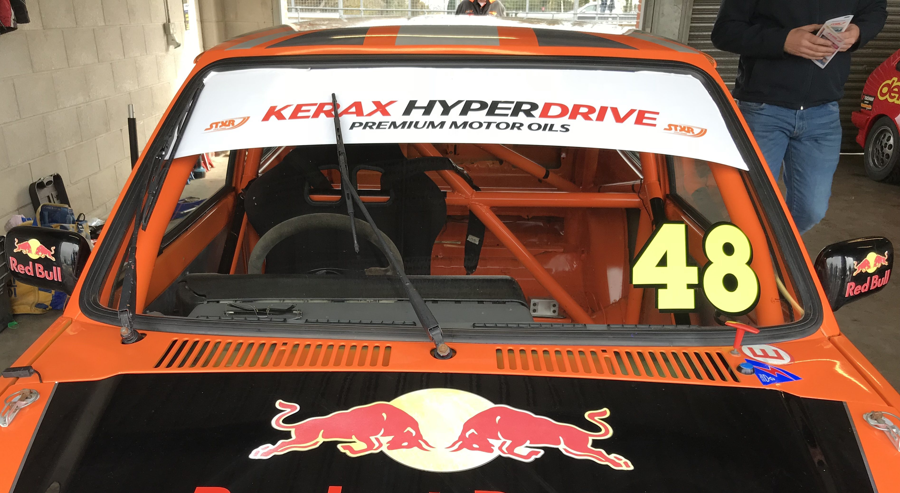 ST-XR Double for Roberts at Oulton Park