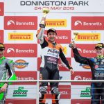 Finocchiaro takes championship lead following Donington victory